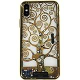 ARTiFY iPhone x iPhone xs メッキTPU スマホケース クリムト 生命の樹 AJ00526