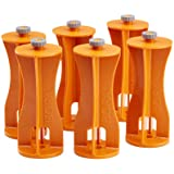 Bora Centipede 6-Piece Risers Set, Accessory for Bora Centipede Work Stands, Increase Working Height, CA0506, Orange