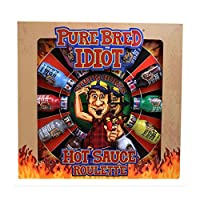 SOUTHWEST SPECIALTY FOOD Pure Bred Idiot ホットソースルーレットゲーム 12本 - 燃焼レベル 1~12