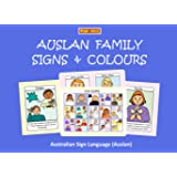 AUSLAN FAMILY SIGNS AND COLOURS: Australian Sign Language