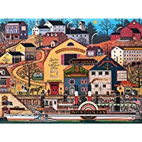 Buffalo Games The Bostonian by Charles Wysocki Jigsaw Puzzle (1000 Piece) by Buffalo Games