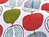 ハーフカットクロス YnGVE inreder Pomegranate small レッド 約75cm×50cm