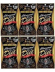 【6個セット】ミナミヘルシーフーズ チャコールブラックダイエット 80粒入