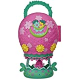 Hasbro E7724 Trolls World Tour- Tour Balloon Play Set With Poppy Doll & Storage- Handle For On The Go Play- Kids Toys- Ages 4