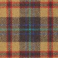 ウール【18480】【柄物】【ウール生地】カラー全7色【50cm単位 切り売り】【ウールツイード】 87 カラシ/レンガ