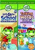 Leapfrog Lets Go to School/Talking Words [DVD] [Import]