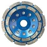 Kingthai 125mm ダイヤモンド カップ グラインダー サンダー ダブル研削面 研削砥石 石グラインダー コンクリート石材用 切削