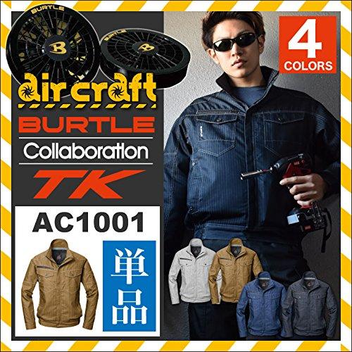 バートル×TK(BURTLE) 【空調服のみ服単品】夏 エアークラフト bt-ac1001tk-t インディゴ L