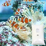 人工海水 ブルーマリン 800リットル用(200リットル用×4袋・28kg) 人工海水