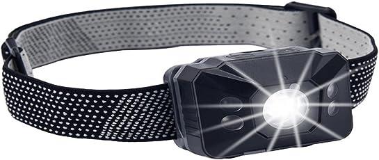 TDKOY LEDヘッドライト 充電式 軽量 IPX6 防水 超高輝度 SOSフラッシュ機能 登山用 ヘッドライト 防水 ヘッドライト 釣り