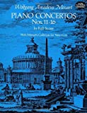 Mozart: Piano Concertos Numbers 11-16 in Full Score