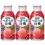 伊藤園 不二家 ネクター つぶつぶ白桃(ボトル缶) 380g×3本