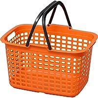 アイリスオーヤマ 職人の車載ラック専用 バスケット キャリー オレンジ/ブラック CBT-M