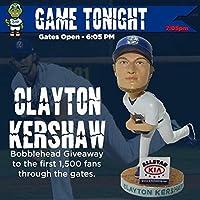 Clayton Kershaw Rancho Cucamonga Quakes ボブルヘッド MiLB