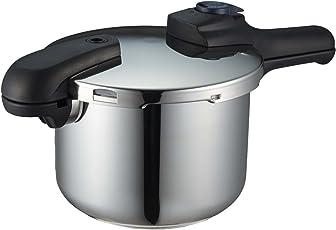 パール金属 圧力鍋 4.5L IH対応