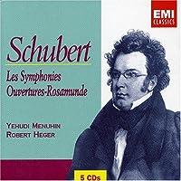 Schubert: Les Symphonies; Rosamunde Overtures by Menuhin