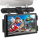 アウトドア用品 Nintendo Switch用車載ホルダー  後部座席用  U-Partners 360°ジョイントボール 自由回転可能 調節可能 伸縮可能 折り畳み式 軽量 ipad 、fire HD8、 iphone、Sonyに適用