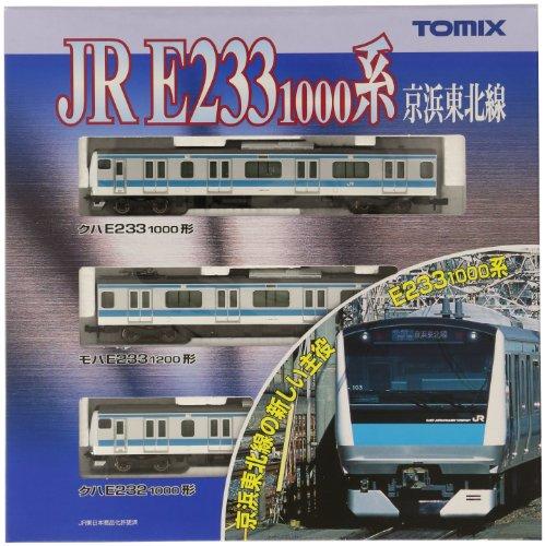TOMIX Nゲージ E233-1000系 京浜東北線 基本3両 92348 鉄道模型 電車