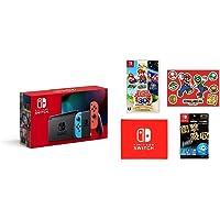 Nintendo Switch 本体 (ニンテンドースイッチ) Joy-Con(L) ネオンブルー/(R) ネオンレッド…