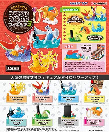 ポケットモンスター デスクでお役立ちフィギュア3 8個入りBOX (食玩)