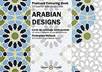 Arabian Designs (Postcard Colouring Books)
