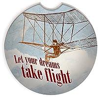 AngelStar 13452Let Your Dreams自動コースター、2–3/ 4インチ、マルチカラー