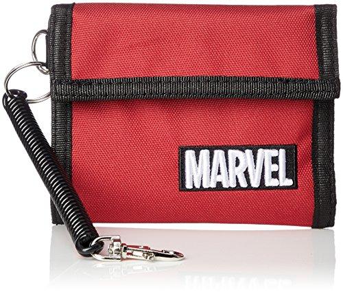 [해외][마블] 지갑 지갑 벨크로 MARVEL 마블 자수 로고 여성 남성 MV-WLT04/[Marvel] Wallet Purse Velcro Tape MARVEL Marvel Embroidery Logo Ladies Men`s MV-WLT 04