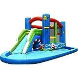 Inflatable Water Slide Bouncy Castle Pool Slide Happy Hop 1.6m Slide Carry Bag