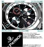 トリックマスター クロノグラフ 腕時計 シルバーカラー スワロフスキー クォーツ式 銀色 黒 【並行輸入品】