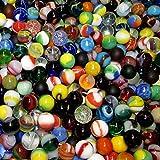 "myCoolStuff Mega Fun One Pound 5/8"" (16mm) Premium Mix Glass Marbles"
