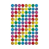 Trend Enterprises トレンド SuperSpots Stickers Colorful Sparkle Smiles 【ごほうびシール】 キラキラ スマイル (400枚入り)