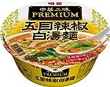 明星 中華三昧PREMIUM 五目辣椒白湯麺 97g×12個