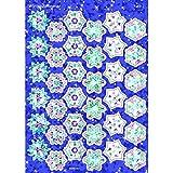 トレンド ごほうびシール キラキラ 雪 シール 72片 Trend Sparkle Stickers Winter Shimmer T-6312