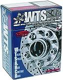 KYO-EI [ 協永産業 ] W.T.S.ハフ゛ユニットシステム [ M12XP1.5 ] 普通車用 [ 4H/100 ] 15mm [ P1.5 ] 内径54mm [ 個数:2枚1セット ] [ 品番 ] 4015W1-54