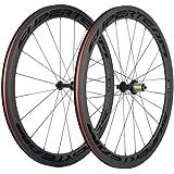 Superteam 50mm/23mm Wheelset 700c Clincher Road Bicycle Carbon Wheel