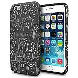 iPhone6s ケース「iPhone6 ケース」人気「二層構造」TPUケースxPCカバー「デュアルレイヤー」耐衝撃「薄型」衝撃吸収「アイフォン6sケース」アイフォン6ケース「スマホケース」おしゃれ‐ ANIMAL「TORU」