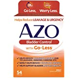 AZO Bladder Control® with Go-Less Daily Supplement | Helps Reduce Occasional Urgency* | Helps reduce occasional leakage due t