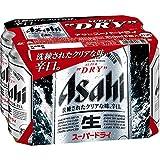 アサヒ スーパードライ 350ml×6缶パック