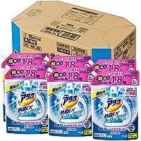 【ケース販売】アタック 抗菌EX スーパークリアジェル 洗濯洗剤 液体 詰替用 大容量 1.35kg×6個