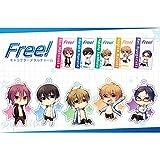 FREE! キャラクターメタルチャーム-5種オールセット(七瀬 遙・橘 真琴・松岡 凛・葉月 渚・竜ヶ崎 怜)