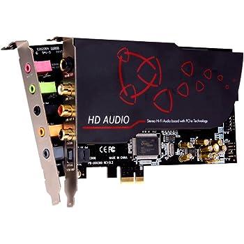 aim PCI-Express接続オーディオカード CMI8888チップを搭載 SC808