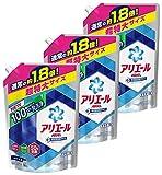 【まとめ買い】 アリエール 洗濯洗剤 液体 イオンパワージェル サイエンスプラス 詰替用 超特大サイズ 1.35kg×3個