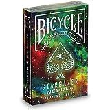 Bicycle Stargazer Nebula Playing Cards , Black