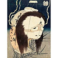 Ghost of Oiwa c1831-1832 Unframed Wall Art Print Poster Home Decor Premium 壁ポスターホームデコ