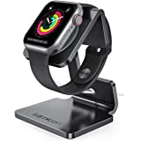 Apple Watch 充電スタンド Series 6 SE 5 4 3 2 38mm 40mm 42mm 44mm 全機種対応 置くだけで充電 Lomicall アップル ウォッチ 卓上スタンド : applewatch アルミ 充電 ドック 充電