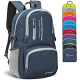 Lightweight Hiking Backpack,Handy Foldable Water Resistant Travel Daypack Packable Camping Backpack for Men Women