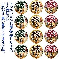 日清食品 どん兵衛 西 特盛シリーズ 3種類×8(24食) セット