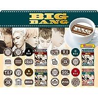 【期間限定】ラテアートシート BIGBANG×Deco Latte(デコラッテ)5シート入り (Aセット)
