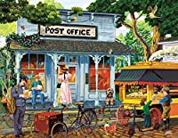 Postage Stamps and Butter (Large Piece) 1000 pc Jigsaw Puzzle by SunsOut - Large oversized easy to grasp puzzle pieces