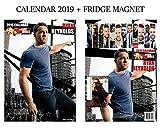 ライアン・レイノルズカレンダー2019+ライアン・レイノルズ冷蔵庫マグネット